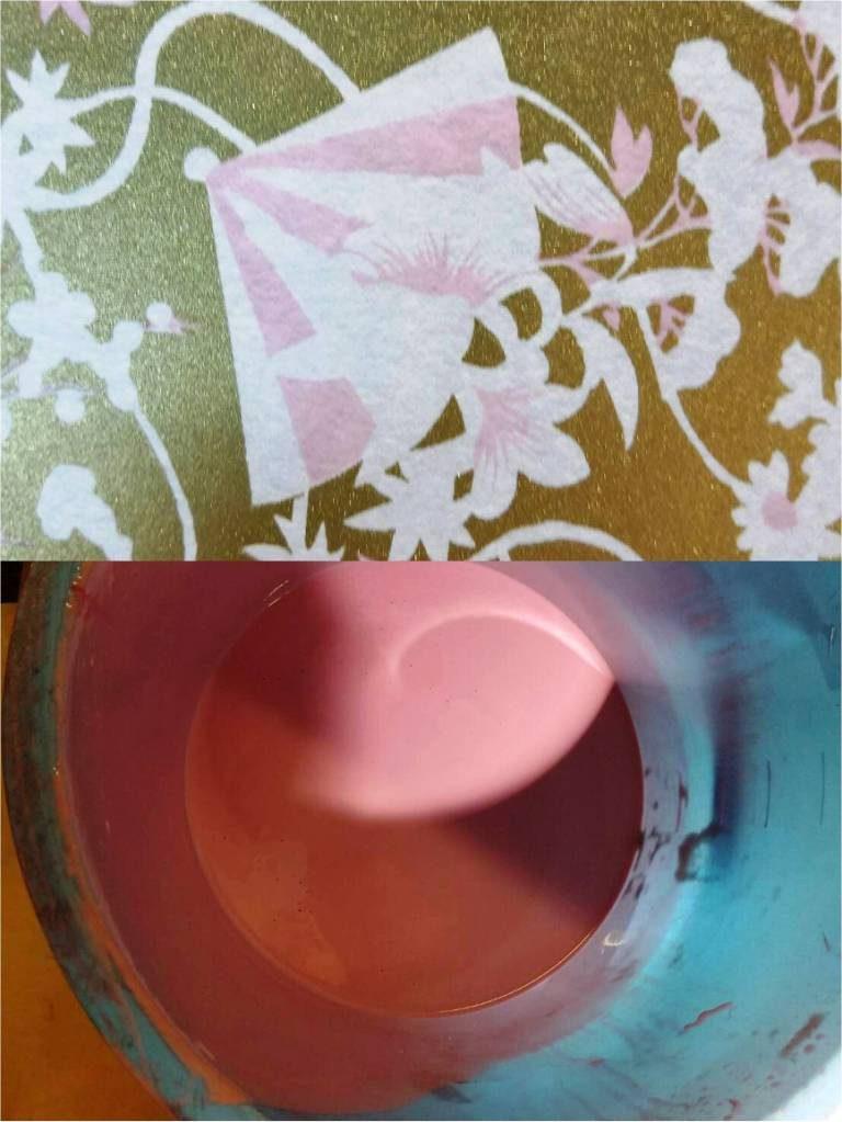 色挿し工程